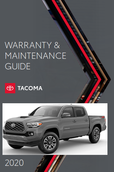 2020 Toyota Tacoma Warranty And Maintenance Guide Free Download