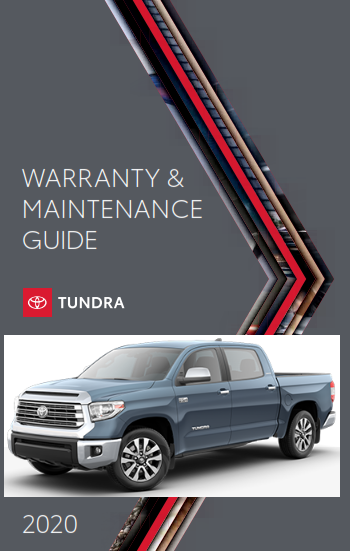 2020 Toyota Tundra Warranty And Maintenance Guide Free Download