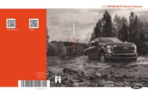 2021 Ford f-250 Super Duty Owners Manual Free Download