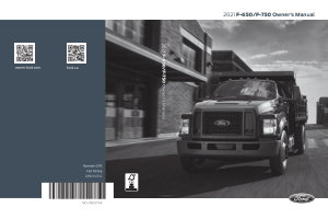 2021 Ford f-750 Owners Manual Free Download