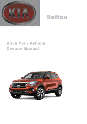 2021 Kia Seltos Drive Your Vehicle Owners Manual Free Download