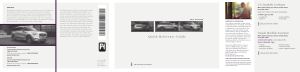 2021 Lincoln Aviator Quick Reference Guide Free Download