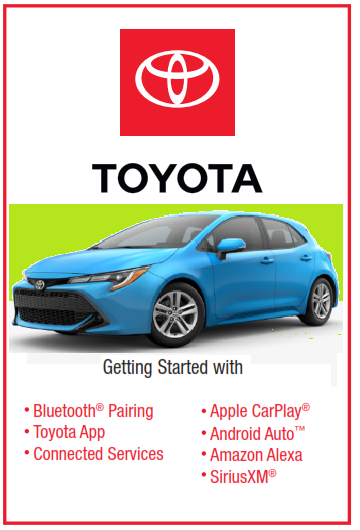 2021 Toyota Corolla Hatchback Audio Multimedia And Connected Services Guide Free Download