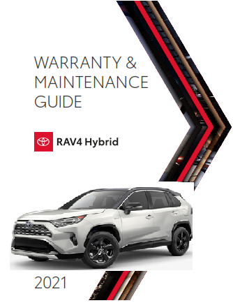 2021 Toyota rav4 Hybrid Warranty And Maintenance Guide Free Download