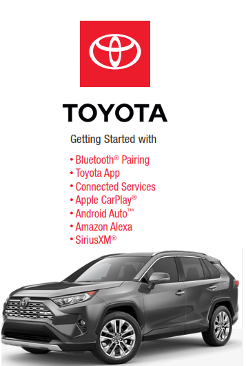 2021 Toyota rav4 Model Year Audio Multimedia And Connected Services Getting Started Free Download