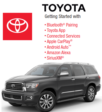 2021 Toyota Sequoia Audio Multimedia And Connected Services Getting Started Free Download