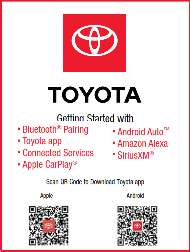 2021 Toyota Tacoma Model Year Audio Multimedia And Connected Services Getting Started Free Download